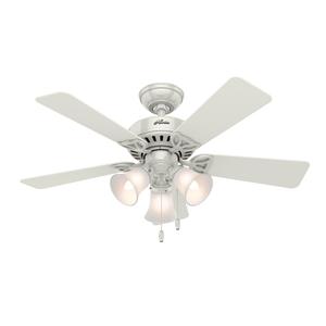 Ventilador de Teto Residencial Beacon Hill Branco Hunter Fan Oficial