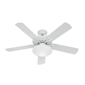 Ventilador de Teto Residencial Beaufort Branco Hunter Fan Oficial