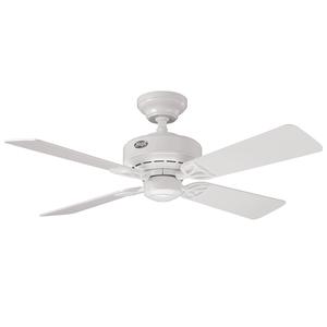Ventilador de Teto Residencial Bayport Branco Hunter Fan Oficial