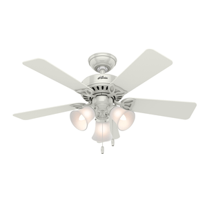 Ventilador de Teto Residencial Beacon Hill Branco Hunter Fan Oficial