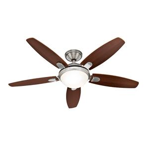 Ventilador de Teto Residencial Contempo Níquel Escovado Hunter Fan Oficial