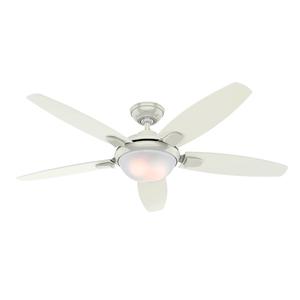 Ventilador de Teto Residencial Contempo Branco Hunter Fan Oficial