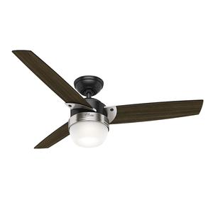 Ventilador de Teto Residencial Nova Preto Fosco Hunter Fan Oficial