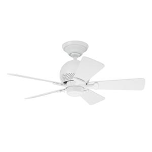 Ventilador de Teto Residencial Orbit Branco Hunter Fan Oficial