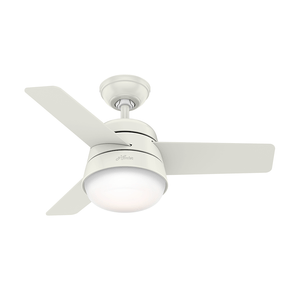 Ventilador de Teto Residencial Finley Branco Hunter Fan Oficial