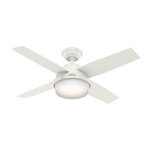 Ventilador de Teto Residencial Dante Branco Hunter Fan Oficial