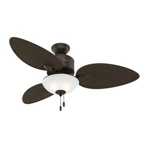 Ventilador de Teto Residencial Gulf Winds Bronze Novo Hunter Fan Oficial