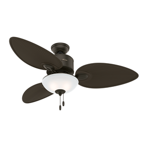Ventilador de Teto Residencial Gulf Winds Bronze Novo Hunter Fan Oficial
