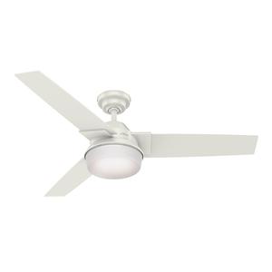 Ventilador de Teto Residencial Herus Branco Hunter Fan Oficial