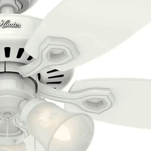 Conjunto de Suporte de Pás - Ventilador Builder Plus Branco