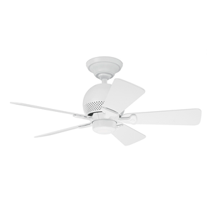 Ventilador de  Teto Residencial Orbit Branco Hunter Fan Oficial 127v OUTLET