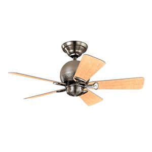 Ventilador de Teto Residencial Orbit Níquel Escovado Hunter Fan Oficial 127v OUTLET