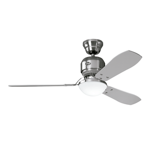 Ventilador de Teto Residencial Lite Industrie Níquel Escovado Hunter Fan Oficial 127v OUTLET