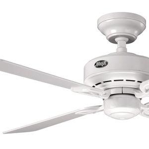 Ventilador de Teto Hunter Fan Bayport Branco 127V OUTLET