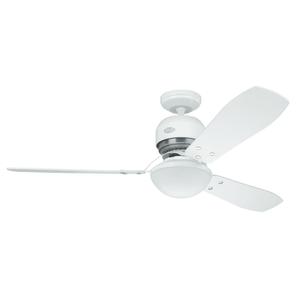 Ventilador de Teto Hunter Fan Lite Industrie Branco 220v Outlet